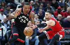 Siakam scores 22, Raptors beat Bulls 93-92 to stop slide