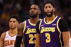 LeBron James trolled by Anthony Davis who says Lakers man's son is better passer