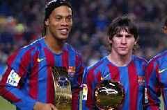 Lionel Messi is not the GOAT, says fellow Barcelona legend Ronaldinho