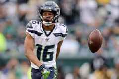 Russell Wilson reckons No 1 Seahawks weapon Tyler Lockett is 'ready to roll'