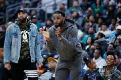 LeBron James apologises to his mother after supporting son Bronny at high school game