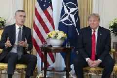 Trump said he has come up with a 'beautiful' new name for NATO: 'NATOME'