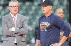 Astros fire suspended manager Hinch, GM Luhnow for sign-stealing scandal