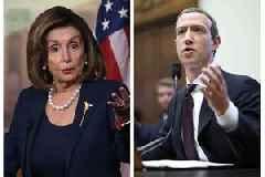 Nancy Pelosi Rips 'Shameful' Facebook: They 'Schmooze' Trump for Tax Breaks
