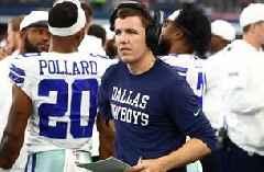 Skip Bayless is 'pleasantly shocked' by the Cowboys retaining Kellen Moore as OC