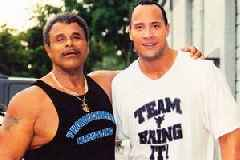 Dwayne Johnson Posts Loving Tribute to Late Father and WWE Star Rocky Johnson: 'I'm in Pain'