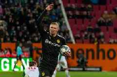 Erling Braut Haaland bags 20 minute Dortmund debut hat-trick to deal Manchester United a transfer sickener