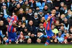 'Tosun is a red!' - Liverpool fans love what Everton's striker has done for Palace vs Man City