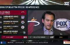 """Erik Spoelstra talks about need to develop more """"grit"""" and """"consistency"""" on the road"""