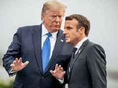 Trump and Macron declared a ceasefire on the escalating trade war over France's anti-tech tax