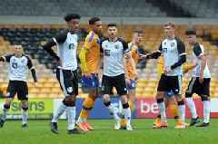 Report as Port Vale's reserves are beaten 2-1 at home to Mansfield