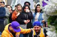 Fans gather to mourn Kobe Bryant's tragic passing