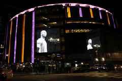Madison Square Garden Pays Tribute To Basketball Legend Kobe Bryant