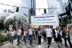 Hundreds of Amazon employees put jobs at risk by criticizing firm's climate change policy