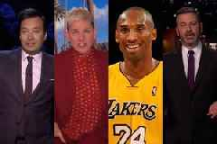 Jimmy Kimmel, Ellen DeGeneres, and More Talk Show Hosts Give Emotional Tributes to Kobe Bryant (Videos)