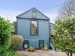 Inside the $1.85 million listing that comes with two San Francisco homes for the price of one, thanks to an extra single-family 'in-law' unit in the backyard