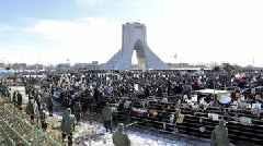 Iranian President Denounces U.S. On Islamic Revolution Anniversary