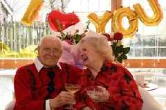 Valentine's Day celebrations for Rutherglen couple celebrating 69 years of marriage