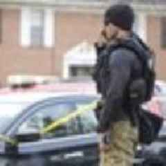 Baltimore shooting leaves two officers wounded, suspect dead