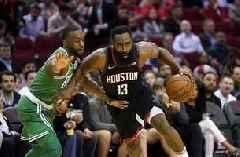 Harden, Westbrook help Rockets beat Celtics 116-105