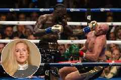 Tyson Fury's wife Paris wanted him to retire after first Deontay Wilder fight
