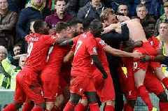 Liverpool's 6 greatest comebacks ever ahead of first return to Norwich since 5-4 win