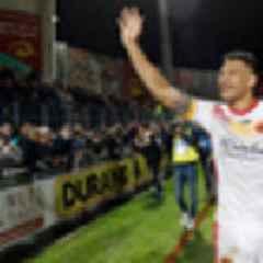 Israel Folau scores on Super League debut for Catalans Dragons