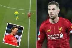 Liverpool fans dub Jordan Henderson 'new Steven Gerrard' after pass at Norwich