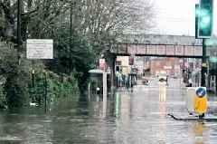 Aston Villa vs Tottenham Hotspur: Storm Dennis update as floods hit and train station closed