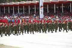 Venezuelan armed forces stage nationwide drills amid tensions with US