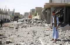 Yemen's air strikes 'kill 31 civilians' after Saudi jet crash