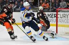 Postponed Blues-Ducks game rescheduled for March 11; Blues to host Panthers on March 9