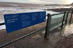 Another test passed as Sidmouth 'glass sea wall' survives Storm Dennis