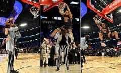 NBA All-Star 2020: Aaron Gordon Jumps Over Tacko Fall, Still Loses Dunk Contest