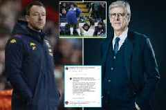 Chelsea legend John Terry slams Arsene Wenger offside plans in Man Utd rant