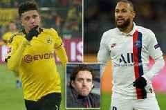 Man Utd hero Owen Hargreaves compares Jadon Sancho to Neymar as he urges summer transfer