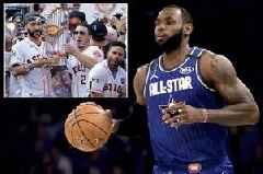 NBA superstar LeBron James launches furious tirade on Houston Astros baseball 'cheats'