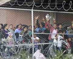 US judge says conditions in overcrowded border holding cells violate Constitution