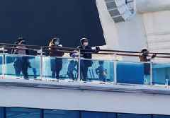 Two passengers from virus-hit Japan cruise ship have died - NHK