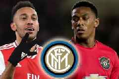 Arsenal's Pierre-Emerick Aubameyang and Man Utd ace Anthony Martial eyed by Inter