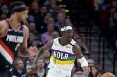 Williamson has 25 in Pelicans' 128-115 win over Blazers