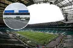 M4 reopens in time for England's Six Nations match at Twickenham following bridge demolition