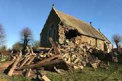 Campaign launched to save historic village church after tower collapses