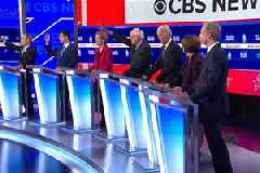 Democratic Candidates Throw Haymakers, Land Few in Latest Debate