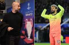 Man City boss Pep Guardiola explains decision to leave out Sergio Aguero vs Real Madrid