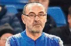 CL: Boss Sarri rues inability to attack as Juventus lose 0-1 at Lyon