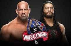 Universal Champion Goldberg vs. Roman Reigns