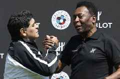 Pele hints Diego Maradona row is continuing by leaving him out of all-time list