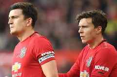 Victor Lindelof still 'mad' at Man Utd team-mate Harry Maguire after World Cup