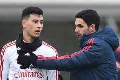 Gabriel Martinelli outlines Arsenal aim once Premier League action resumes